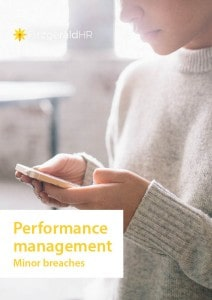 HR guides performance management